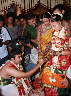 Prasanna and Sneha Marriage Pics