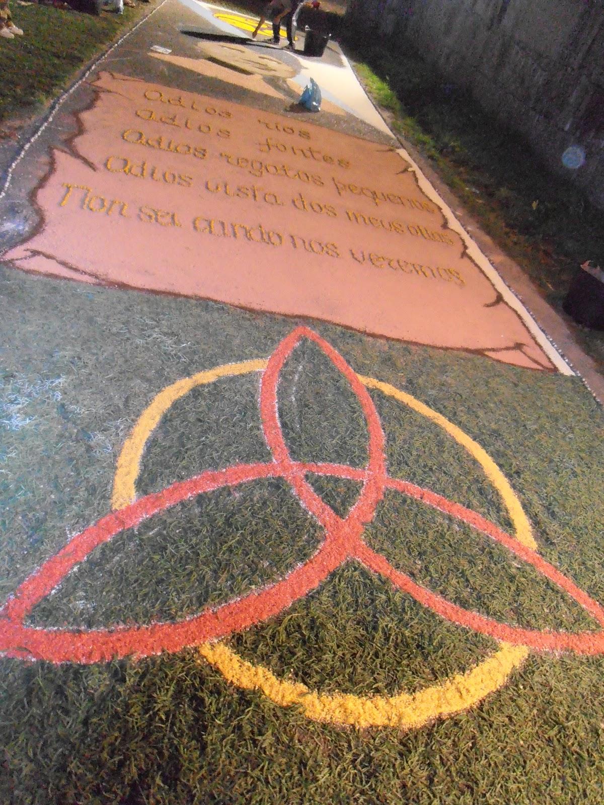 Ponteareas historia viva alfombras do corpus christi de for Alfombras persas historia