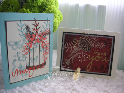 front fall cards with NEW memory box dies