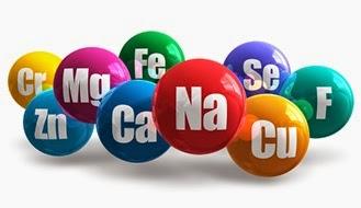 Minerales en alimentos saludables