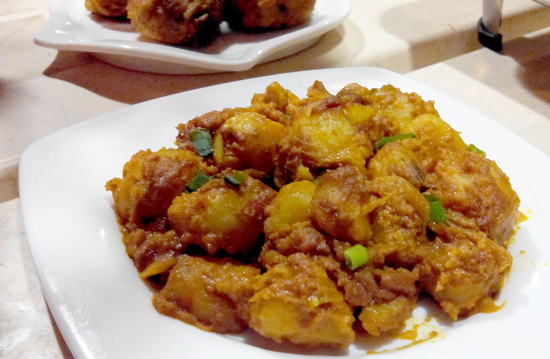 Potato Masala, Curry Express, Davao City
