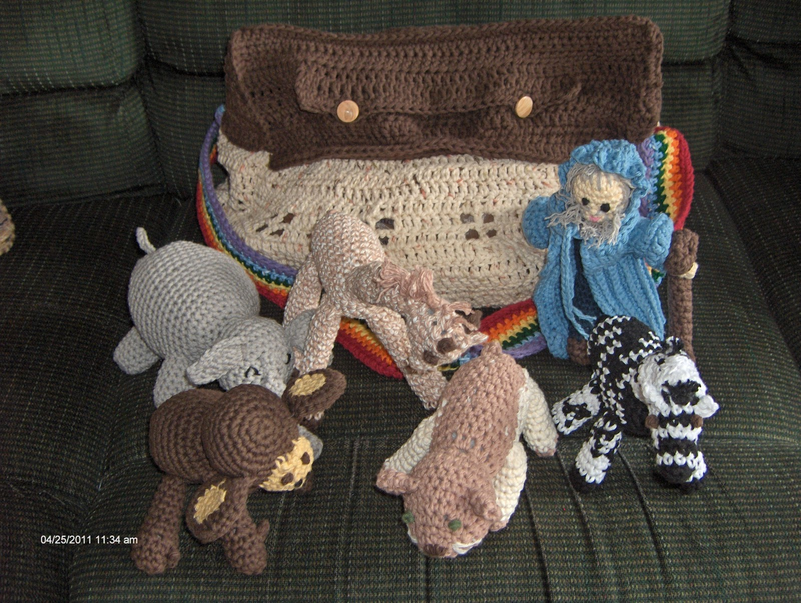 Mary Ann's Crochet : Noah's Ark Bag