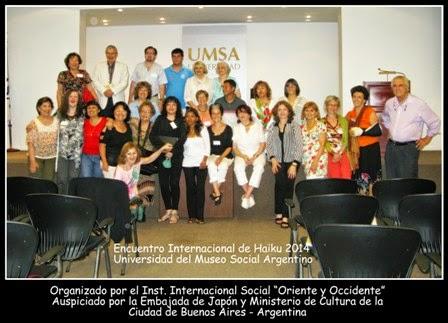 VIII ENCUENTRO INTERNACIONAL DE HAIKU 2014