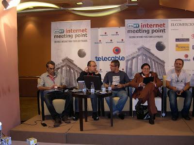 Mesa sobre el futuro de las redes sociales