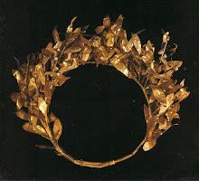 Couronne en or massif de la princesse chaldéenne Choubad