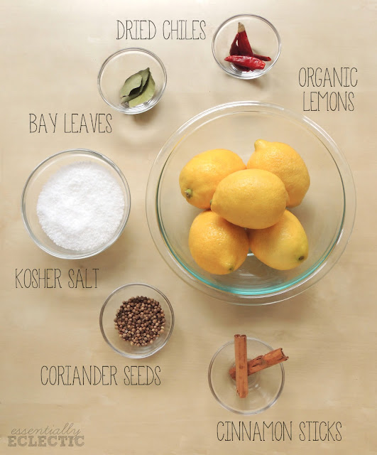 How To Preserve Lemons at Home | www.EssentiallyEclectic.com | Preserve lemons to enjoy their great flavor all year round!