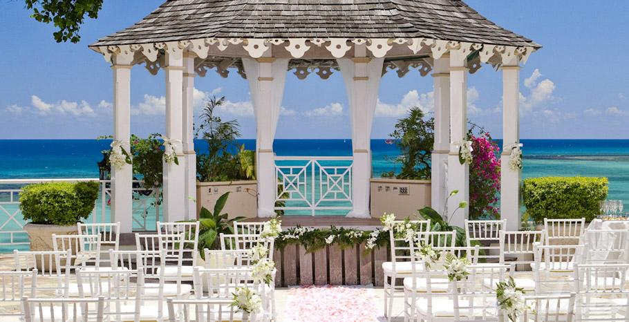 Sandals resorts your wedding your style luxurious for Local venues for weddings