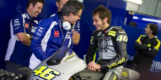 Foto Debut Rossi Bersama Yamaha Terbaru