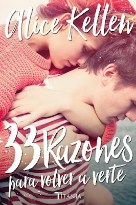 LIBRO - 33 Razones para volver a verte Alice Kellen (Titania - 2016) NOVELA ROMANTICA - NEW ADULT Edición papel & digital ebook kindle Comprar en Amazon España