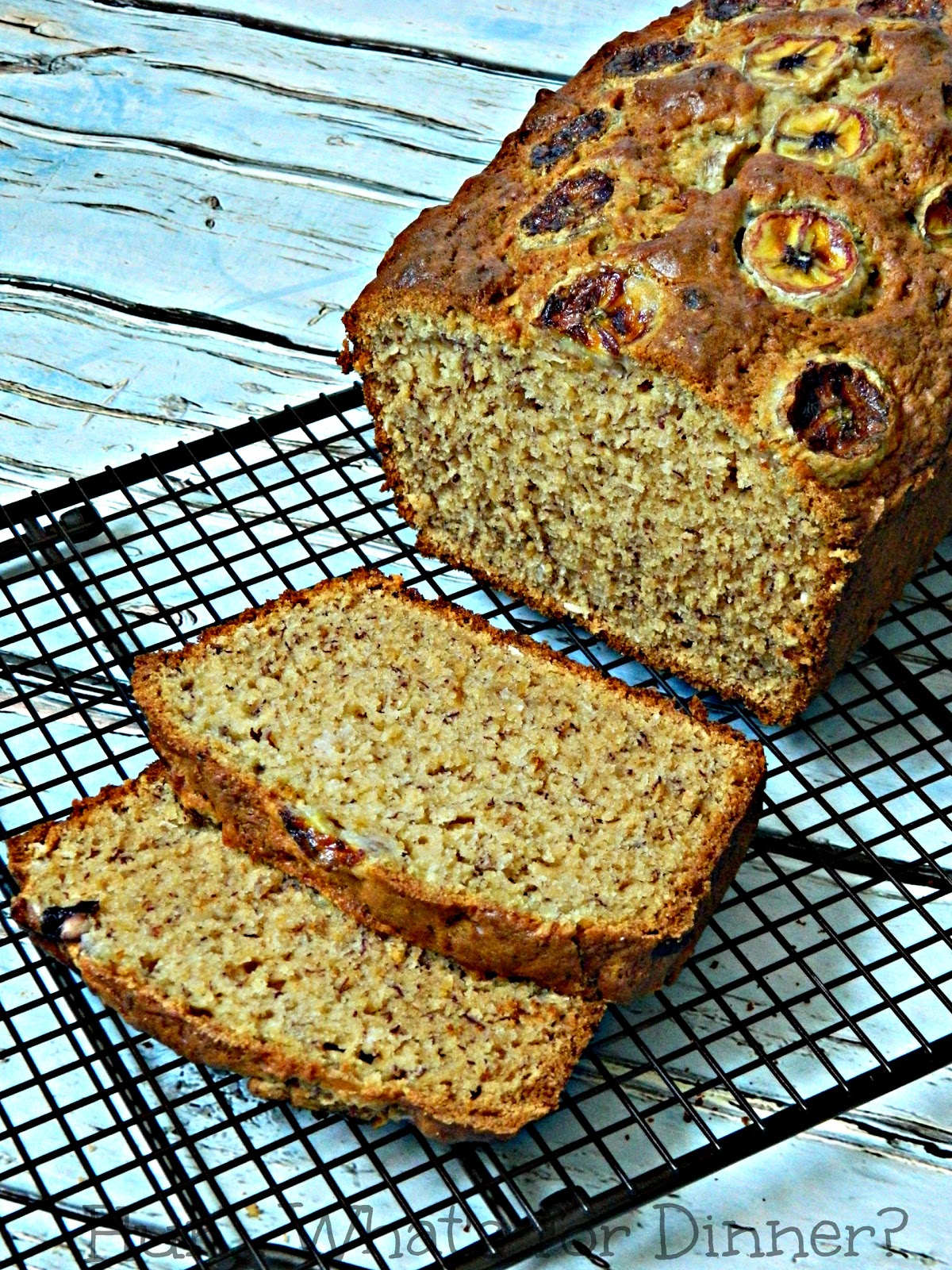 Maple Coconut Banana Bread- a great twist on a classic