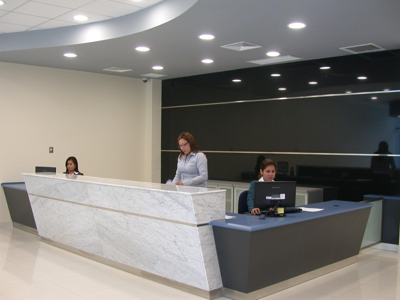 Oniria mobiliario corporativo recepciones for Diseno de oficinas administrativas