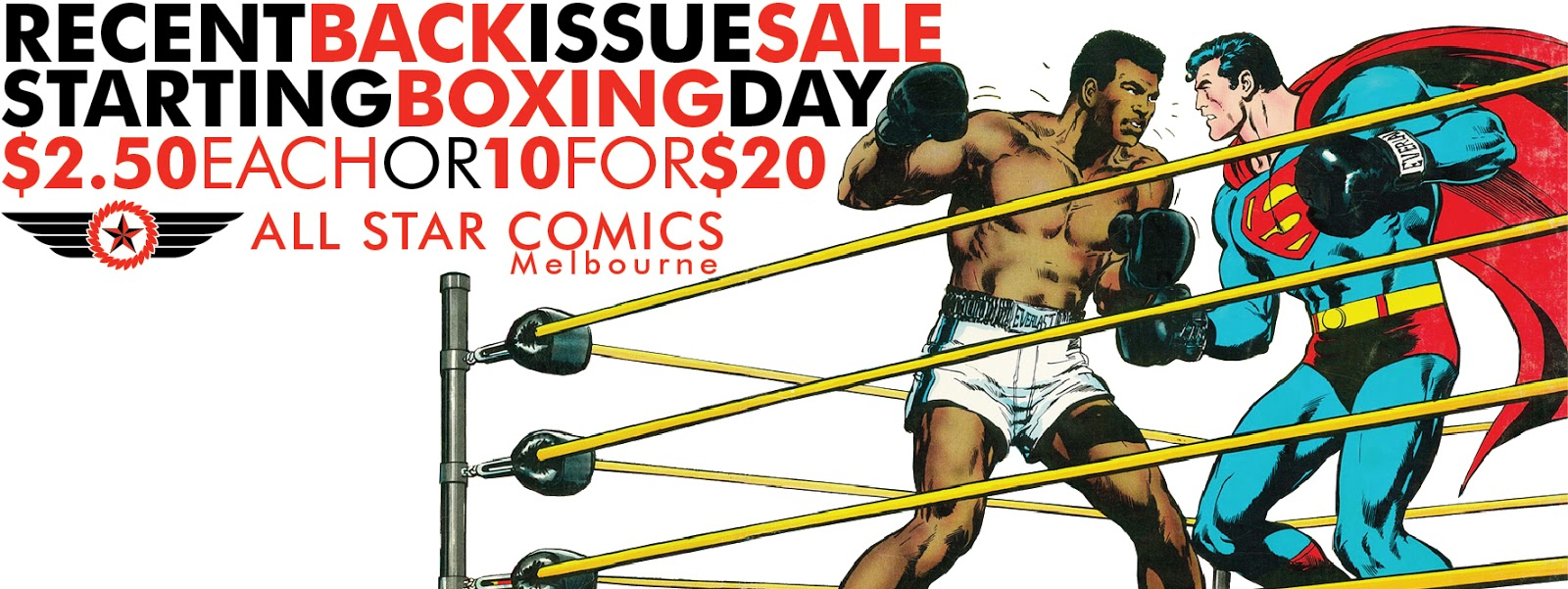 All Star Comics Melbourne: BOXING DAY RECENT BACK ISSUE ...