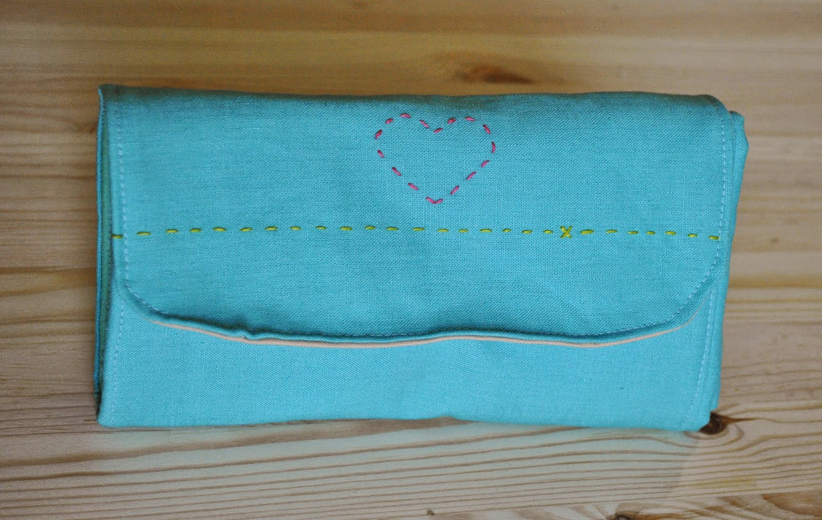 circular knitting needle roll case front