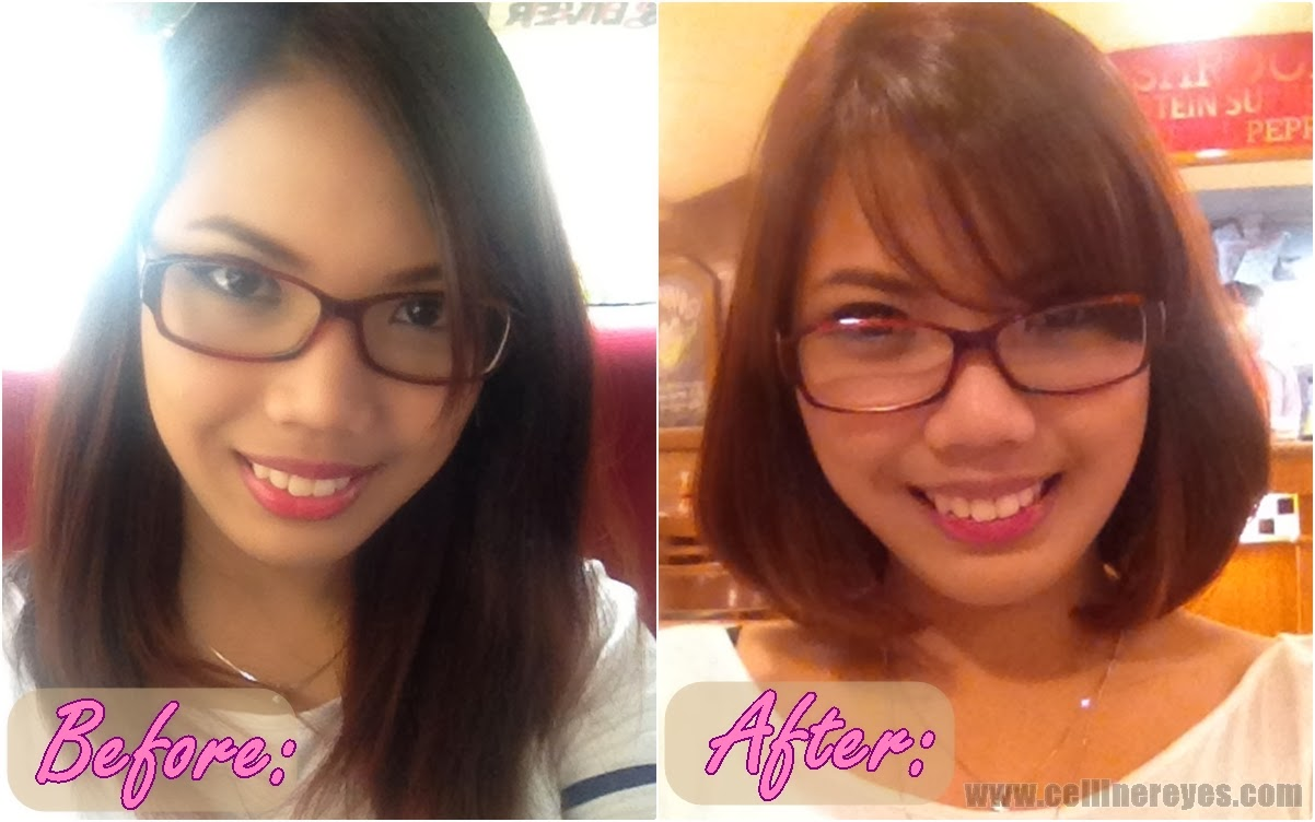 New Hairstyle Courtesy Of Tony Jackey Product Arena By Celline Reyes