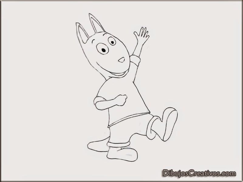 Dibujos de Austin (Backyardigans) para colorear - Imágenes Dibujos ...