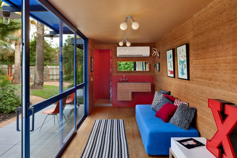 Shipping Container Home House Interior