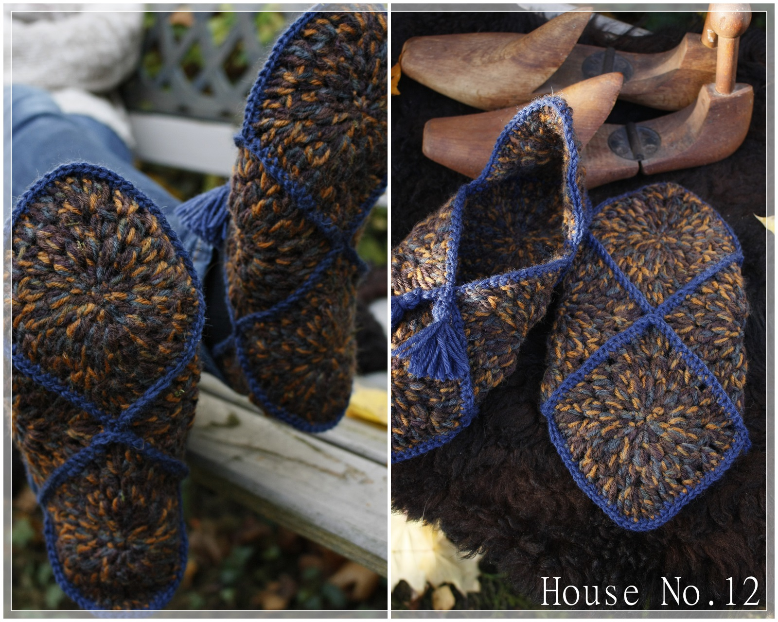 house beautiful autumn days new slippers. Black Bedroom Furniture Sets. Home Design Ideas