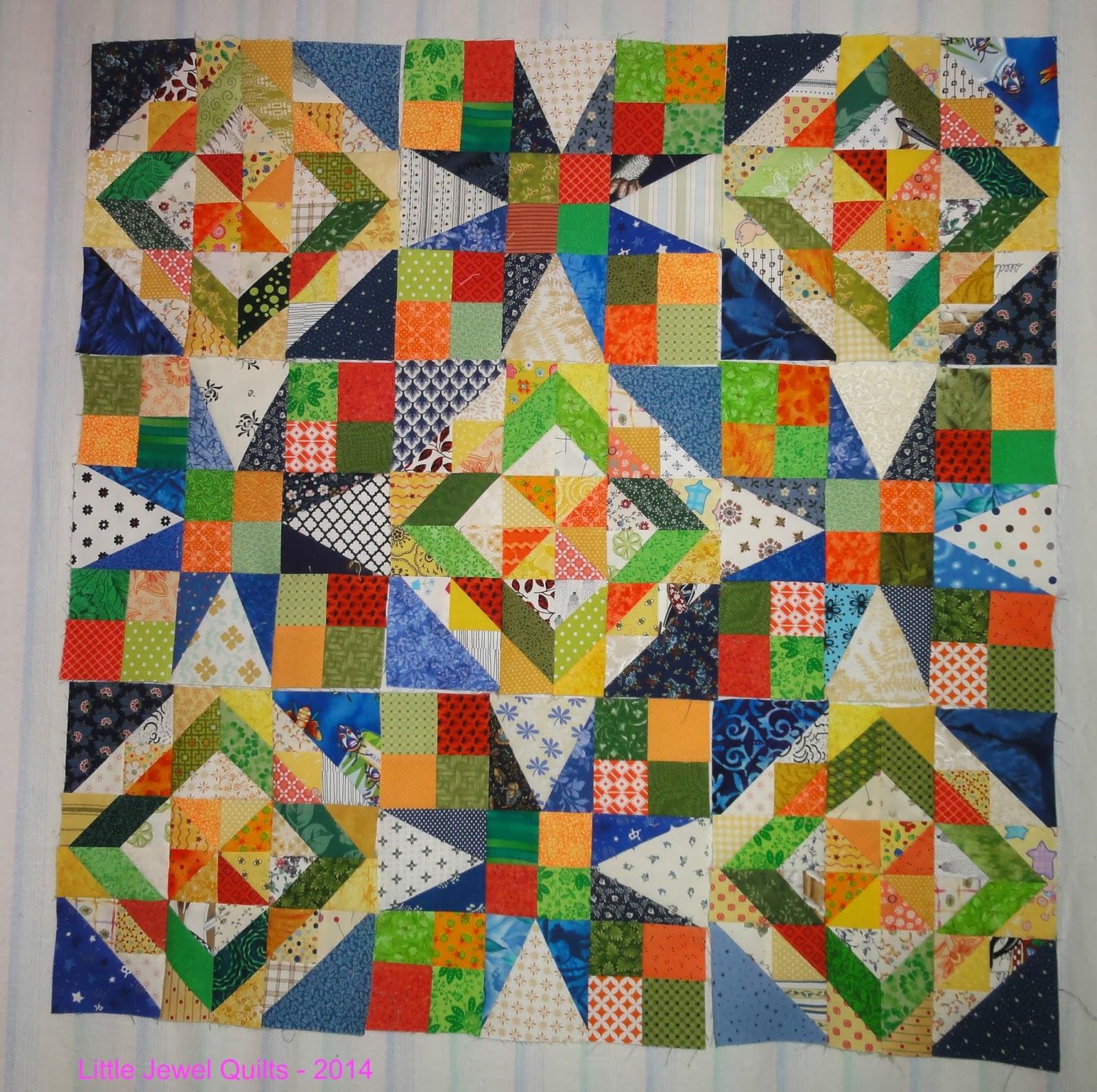 Little Jewel Quilts: Celtic Solstice - Step 6
