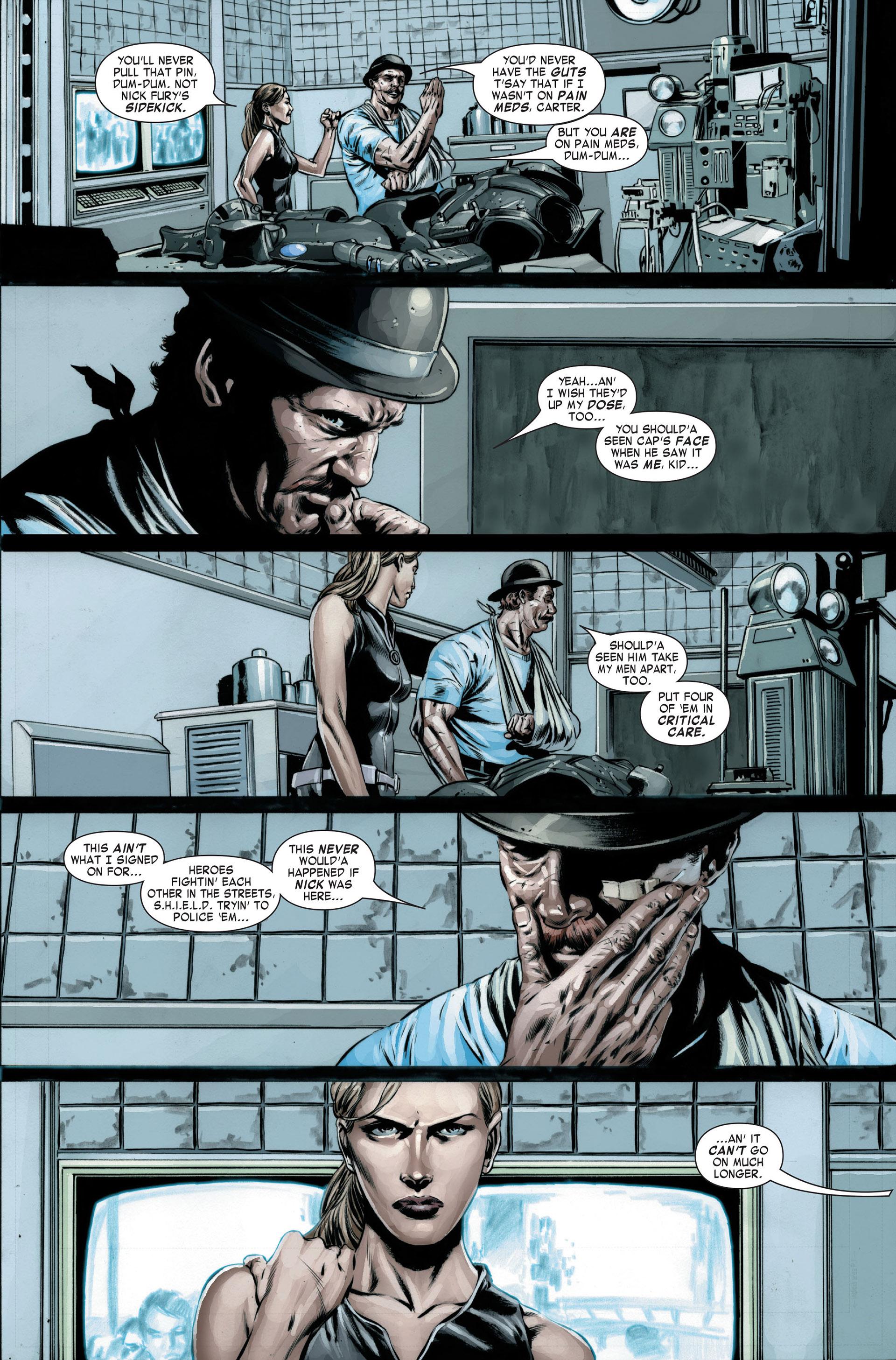 Captain America (2005) Issue #22 #22 - English 10