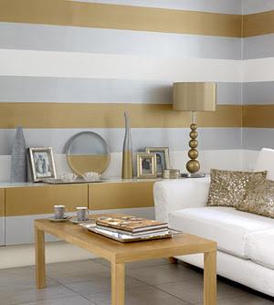 papel de parede listrado horizontal
