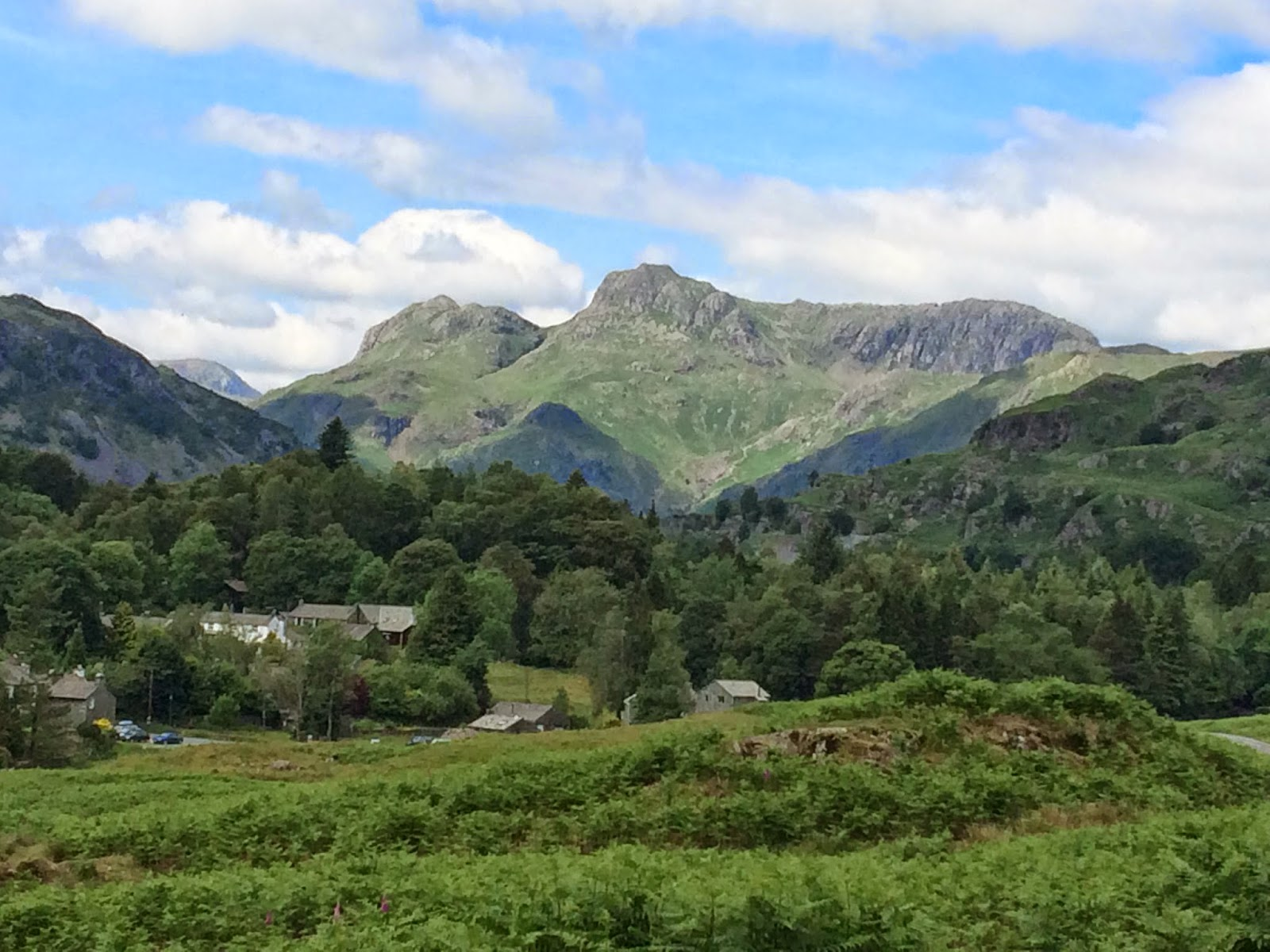 Inspiring mountains - The Langdale Pikes