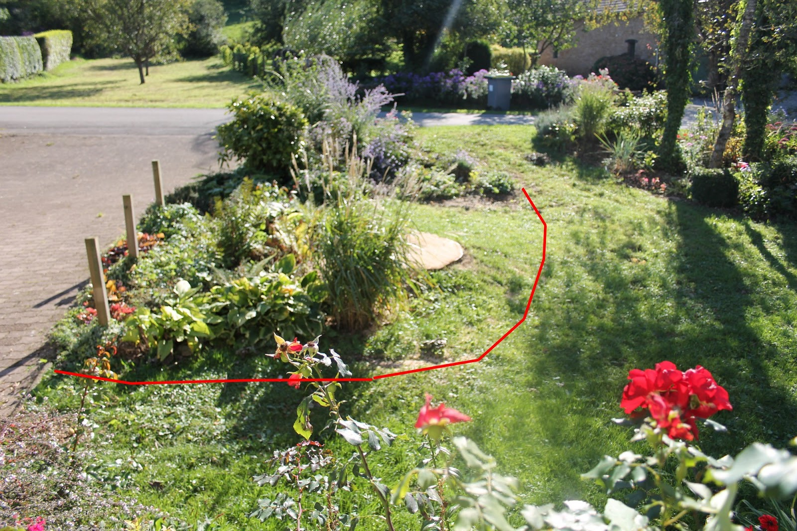 Doubs jardin massif n 3 le hosta rica for Photo massif jardin