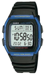 jam tangan casio w-96h-2av