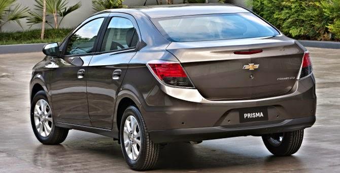 Chevrolet Prisma 2014 preço fotos