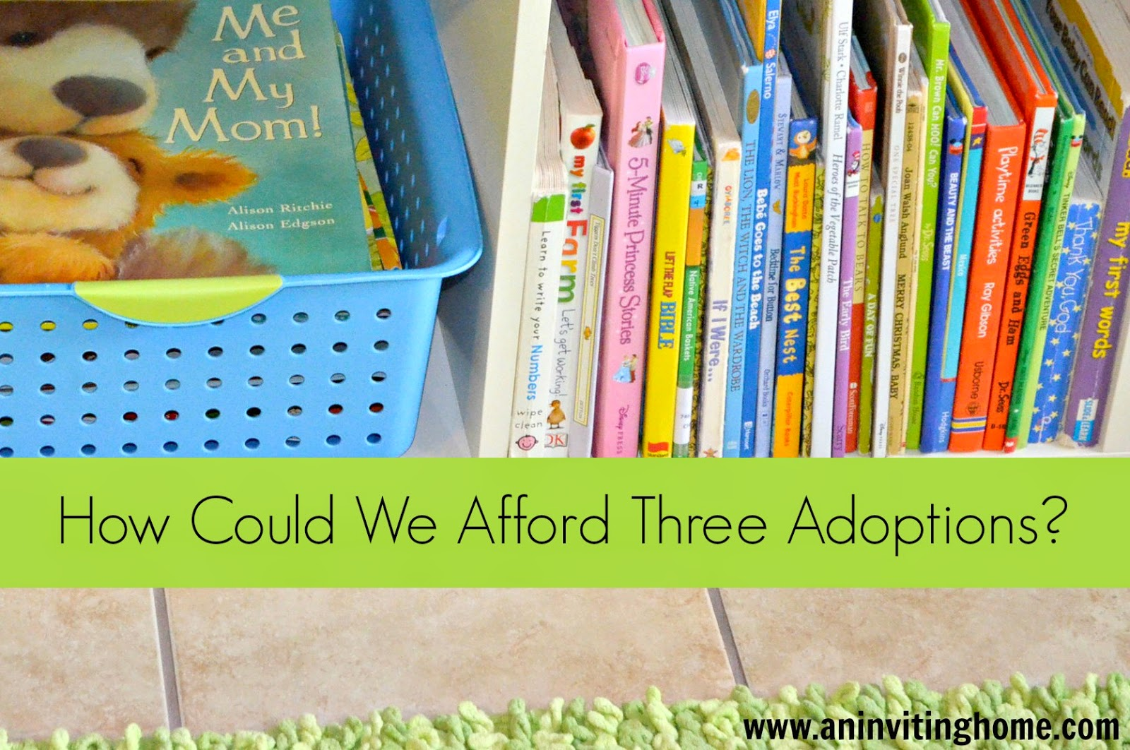 How could we afford three adoptions