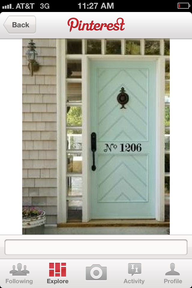 A lovely new nest front door makeover