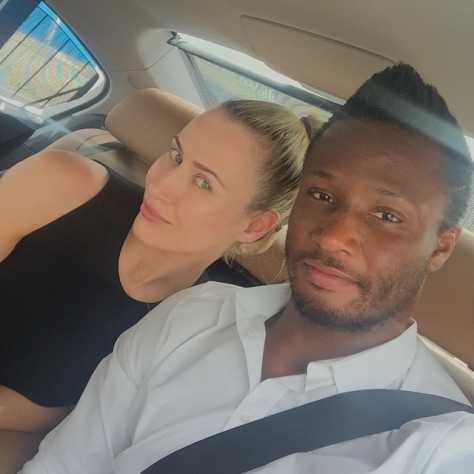 Mikel Obi breaks up with Russian girlfriend?