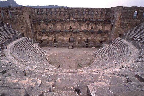 Aspendos Antik Kenti Tarihi : Aspendos antİk Şehrİ ve muhteŞem anfİ tİyatrosu sanat tarİhİ ve
