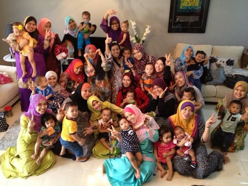 Mommy blogger gojes meet up: Baraan Beraya Umah Aty