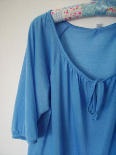 bluse high low style