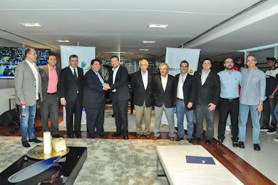 RedeTV! e Liga Nacional de Basquete anunciaram parceria de dois anos para a exibição de jogos ao vivo do NBB - Divulgação/RedeTV!
