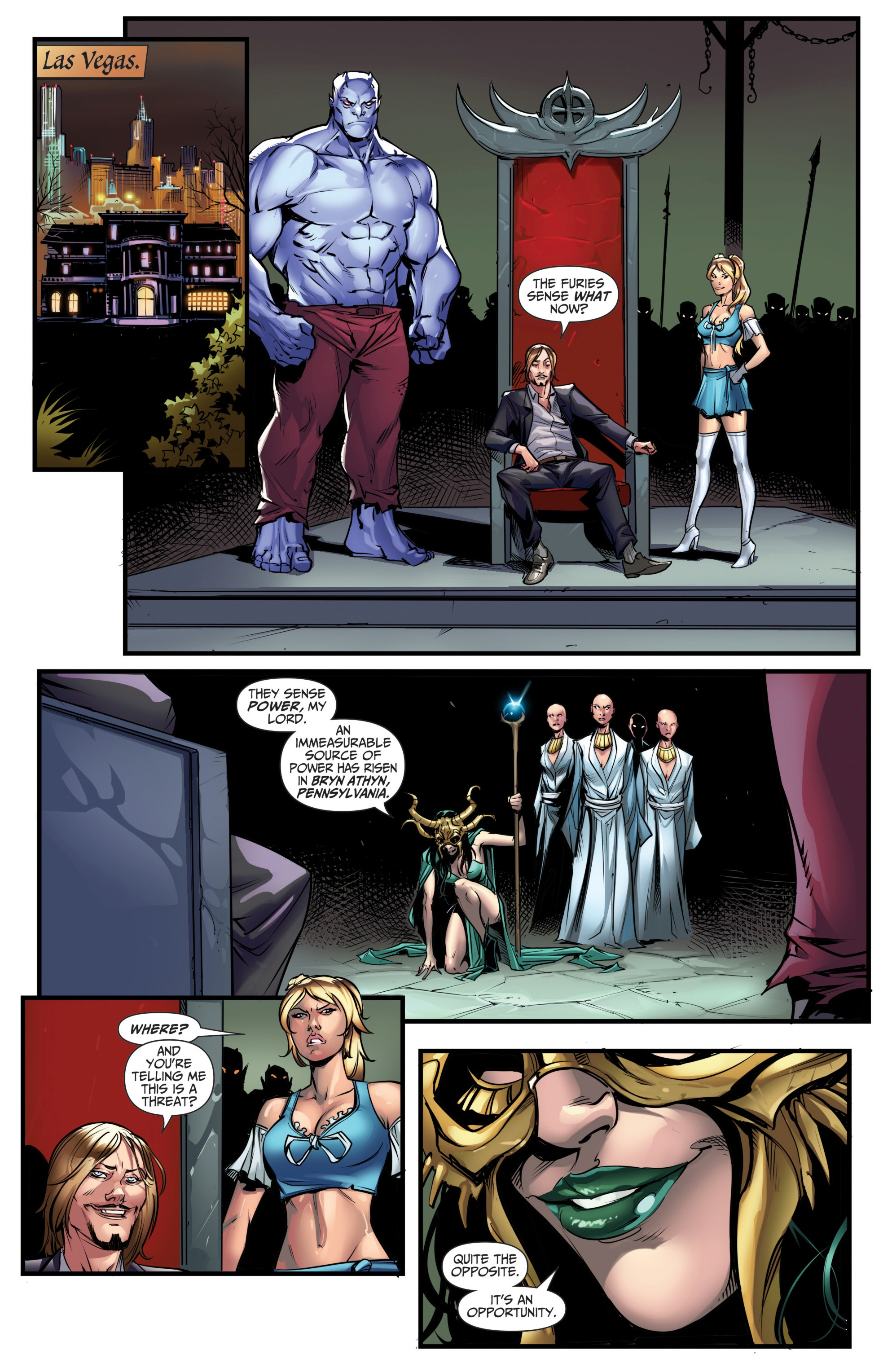 Grimm Fairy Tales (2005) Issue #111 #114 - English 8