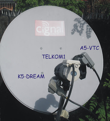 Ku và C Telkom 108*E Dish