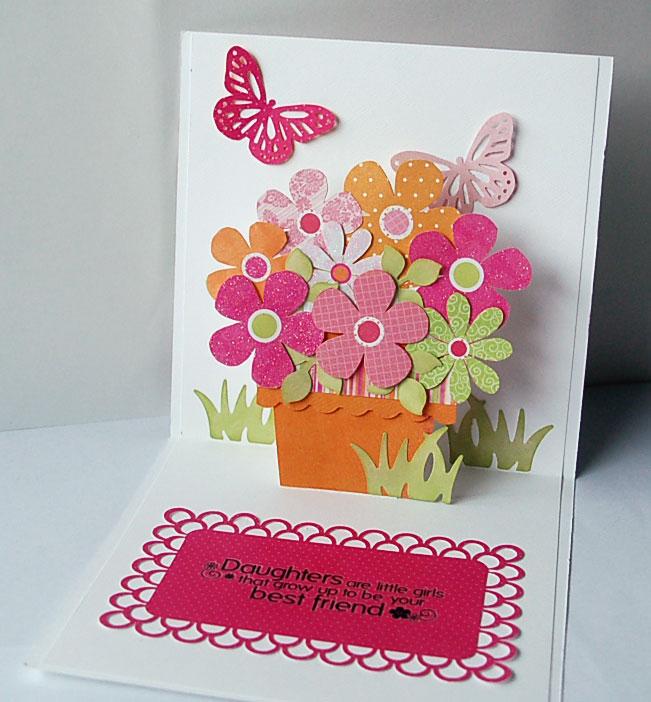 Объемные открытки с днем рождения своими руками для девочки 97