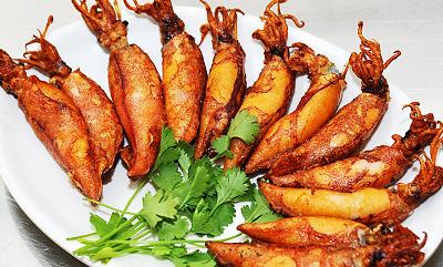 Những món ăn ngon chế biến từ mực nên biết
