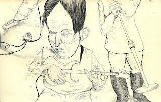 ammon_perry_guitar_illustration_band_moleskin_exchange_pen_ink_draw_drawing