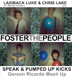 Foster The People V.s Laidback Luke & Chris Lake - Speak & Pumped Up Kicks (Gerson Ricardo Mash Up)