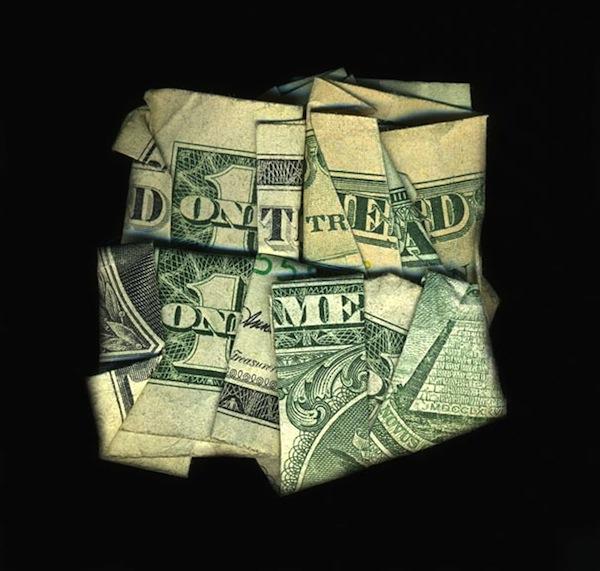 Fold Money Into Ring