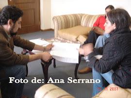 Entrega de documentos al Viceministerio de Medio Ambiente