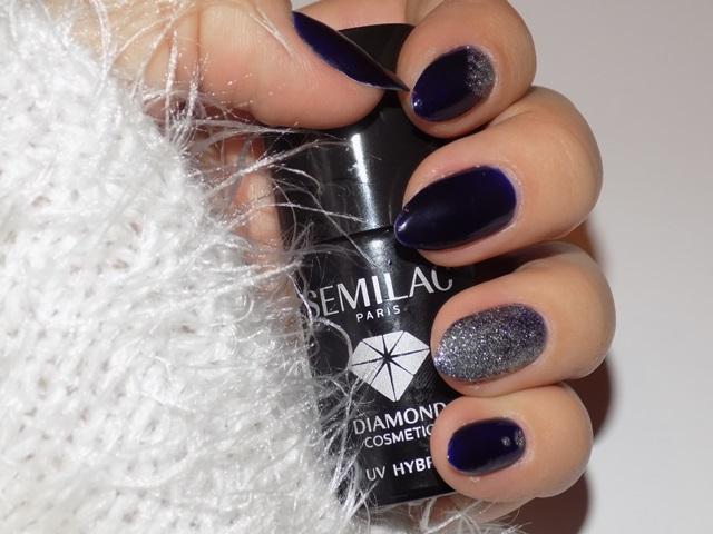 Semilac Blue Ink 088