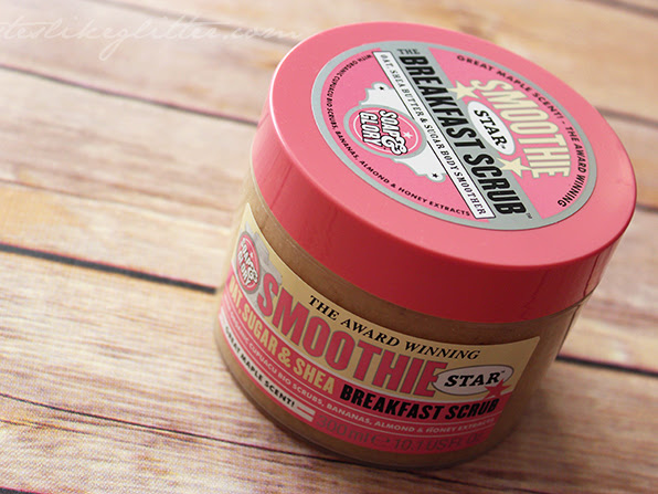Soap & Glory Smoothie Star Breakfast Scrub.