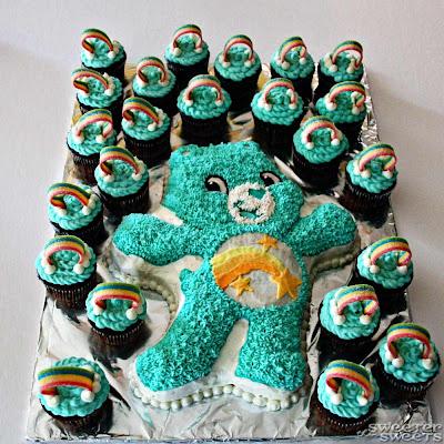 Grumpy Care Bear Cake Pan