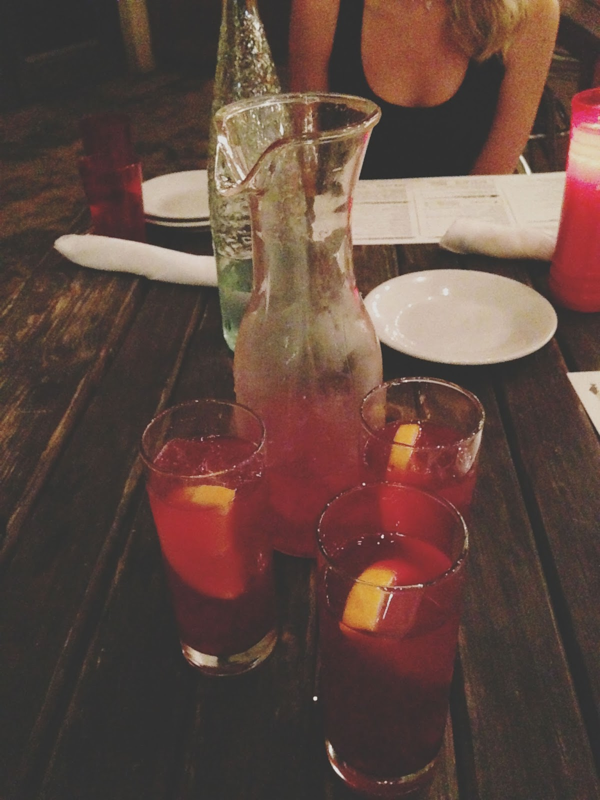 houston food - batanga sangria