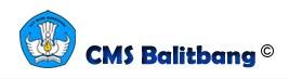 CMS Balitbang UNtuk Website Sekolah