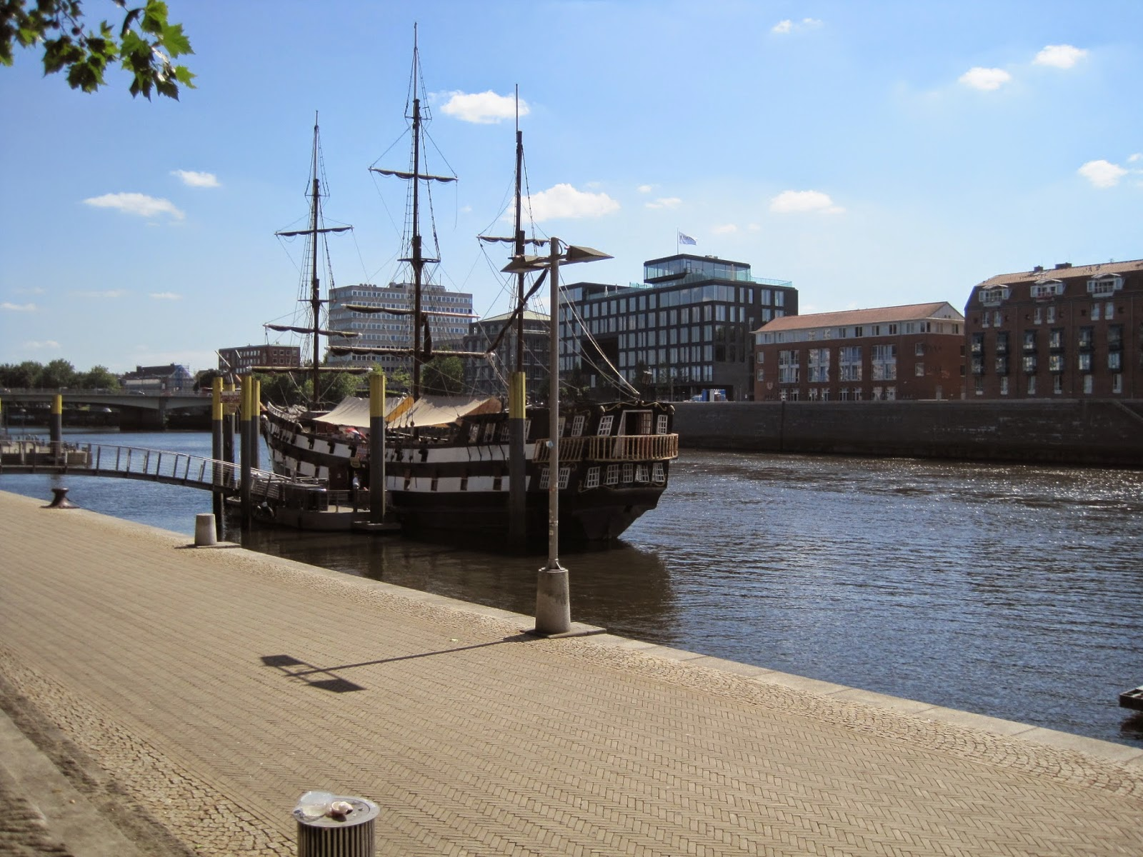 River Weser in Bremen