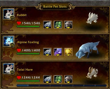 how to choose the pets in your garrison